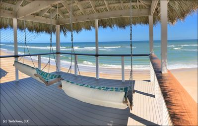 Photo for IMPECCABLE DIRECT OCEANFRONT HOME NEWLY REMODELED ON NO-DRIVE BEACH!
