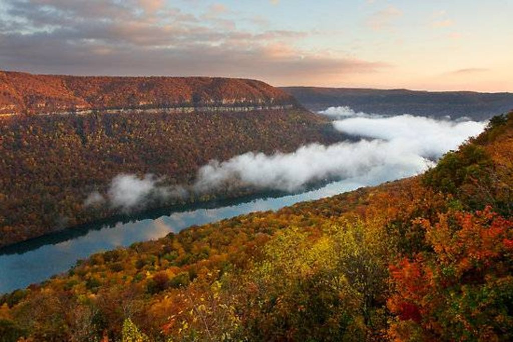 Tennessee River Gorge Island Cabin 2 - New ... - VRBO