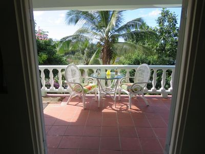 Photo for Garden view suite 200 meters from a beach near capital city of Castries.