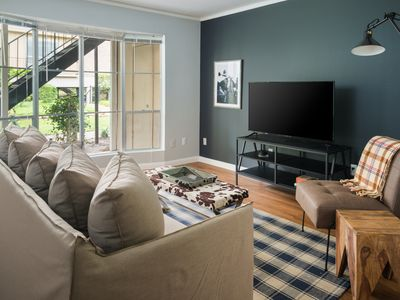 Photo for Open-Concept 1BR in The Galleria by Sonder