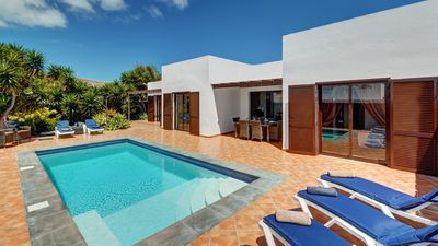 Photo for Private Villa With Electrically Heated Pool