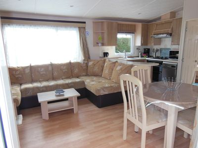 """Photo for Mobile home 6/8 pers. AC / Porch """"Charmettes ****"""""""