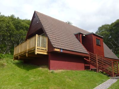 Photo for Perfectly situated holiday home with breathtaking view at the sea in Lochinver