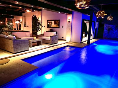 Photo for Bali style house, 2 pools and a cinema