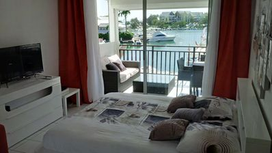 Photo for **Promotion** Nice studio with stunning views in the heart of the marina
