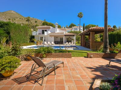 Photo for Beautiful Villa with Private Pool, large garden,close to amenities, wi fi