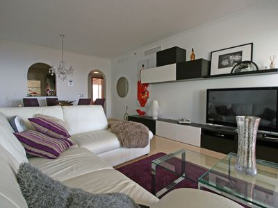 Photo for Discover Andalucia - dreamlike apartment with sea view and pool