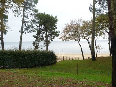 Photo for CAZAUX - 1ST LINE - 50 M LAKE AND BEACHES