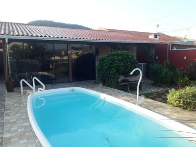Photo for Beautiful House with Pool Morrinhos Beach Cod: A001