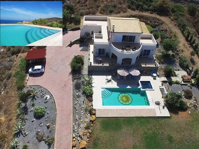 Photo for Villa Orianna with Private Pool + Jacuzzi with Fantastic Sea and Mountain Views