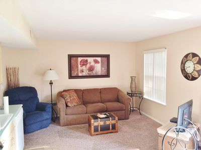 Photo for 1 Bdrm,1 Bth, Condo Walk in, with Free WiFi, Indoor Pool,Mini Golf, etc