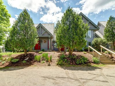 Photo for NEW LISTING! Ski-in/out home w/ski view & gas fireplace - hop on the Raccoon Run