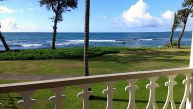 #245 - Direct Oceanfront Kauai Rental By Owner Ocean View FREE WiFi Parking A/C