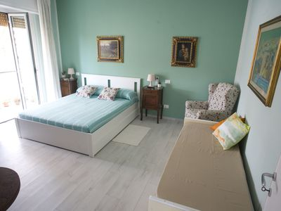 Photo for B & B Take me to the beach - rent single rooms or whole apartment