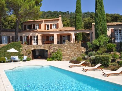 Photo for VILLA- 220 m2 -Pool 10/12 Pers. Gulf of St Tropez, COGOLIN