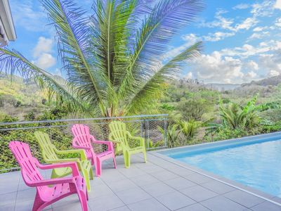 Photo for Caribbean Villa, countryside view
