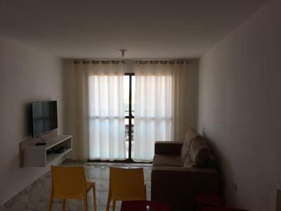 Photo for Apt (201) in the Center of Porto de Galinhas 2 qtos, 2 wc to 250 mts from the sea (Wifi + SKY)