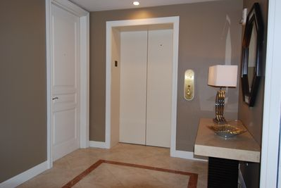 Enter your Private Foyer from the Elevator