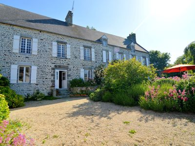 Photo for Luxury detached villa with a spacious garden. 2 km from the coast and 5 km from Coutances.