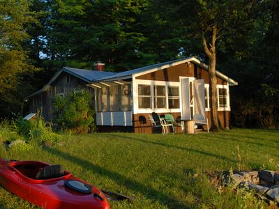 Photo for Private Secluded Waterfront Cottage - Getaway from It All!