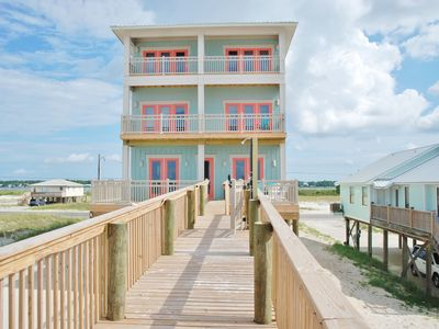 8Bd/8.5Ba Magnificent Private Gulf Shores Beach House, Private Pool and Elevator