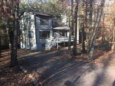 Photo for Clean, Rustic & Secluded Mountainside Chalet 4bd/2ba Sleeps 13