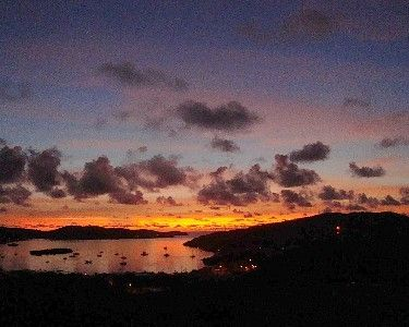Photo for Stunning Sunrise from BuenaVista Guesthouse, your Home in Paradise.