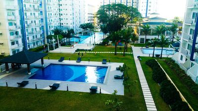 Photo for Cozy 1BR Condo Unit with Strong W-fi and Very Near to SM North EDSA Mall & Bars