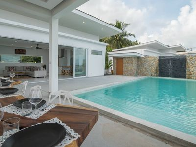 Photo for Villa Melissa 5BR+Infinity Pool-Panoramic Sea View