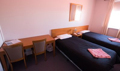 Photo for Clean comfortable Hotel accommodation - Double Room # 7 @ $70 per night