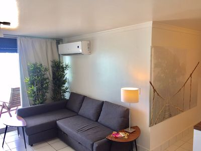 Photo for New 2 Bedrooms beachfront with balcony