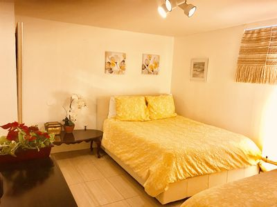 Photo for One large cozy bedroom with private  bathroom Near JFK sleeps up to 4 people.