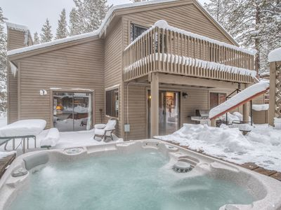 Photo for 3 Bedroom Sunriver Beauty Has Fireplace, Hot Tub, Two Decks & SHARC passes