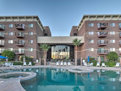 Photo for NEW-Lake Havasu Resort Condo, Walk to Golf & Beach