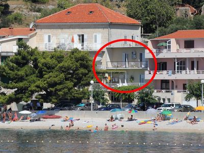 Photo for Apartment in Podgora (Makarska), capacity 7+0