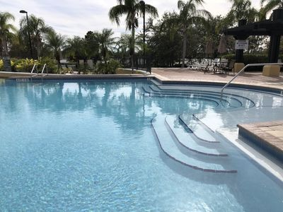 Photo for WALK TO CONVENTION CENTER.  Near Universal & Disney. Resort Pool. #44