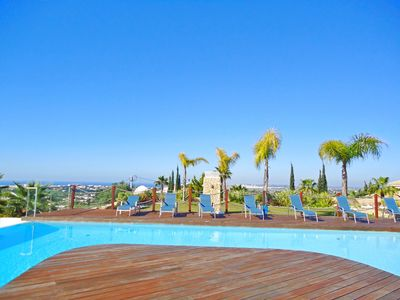 Photo for Modern Villa w/ stunning ocean views in quiet complex, pool, AC, free WiFi