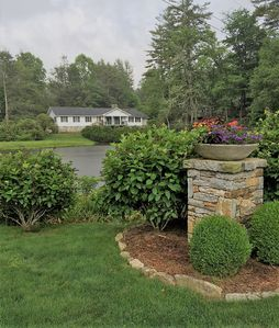 Photo for Peaceful mountain retreat in Highlands Country Club only one mile from town.