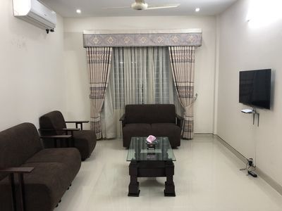 Photo for Brand new fully airconditioned 3 full suites in Basundhara