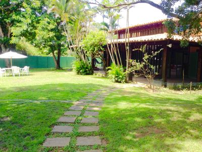 Photo for 4 Suites + 2qts: Excellent House in Geribá only for Families, 150 meters from the beach