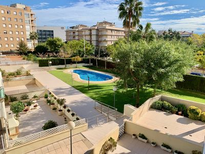 Photo for CAMBRILS APARTMENT WITH POOL - BEACH 250M