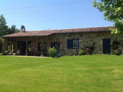 Photo for Urrugne ⎜Beautifully renovated sheepfold facing La Rhune · 4 bedrooms, 8pax