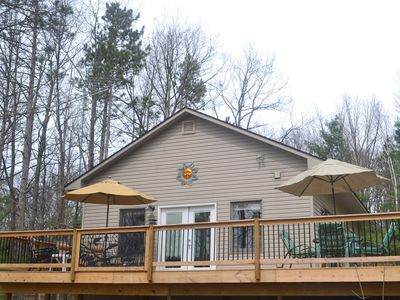 Photo for BOOK NOW!! Chandler's Charm.  Adorable 2 bed, 1 bath cottage on Chandler Lake
