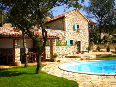 Photo for With private pool and sea view - Villa Ivanka