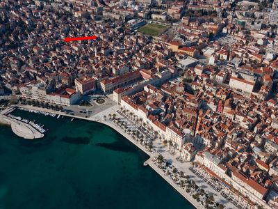 Photo for 1BR Apartment Vacation Rental in Split, Split riviera
