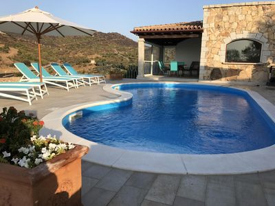 Photo for Villa with fantastic sea views and private pool on 1000m2 of land