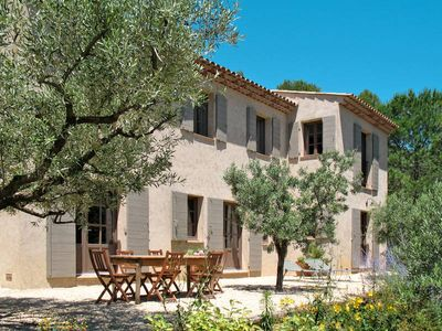 Photo for Vacation home in Lorgues, Côte d'Azur hinterland - 10 persons, 5 bedrooms