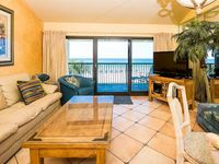 Very nice small condo with great gulf front views.