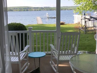 Photo for Comfortable, 3 Bedroom Waterfront Cottage on Chautauqua Lake
