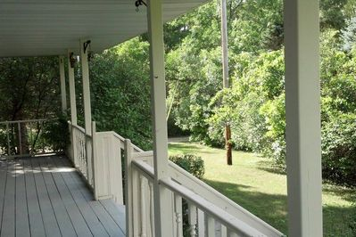Porch in front of house